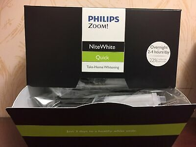 Philips Zoom! NiteWhite 22% Teeth Whitening- x3 Syringes-EXP:2021 -RM 1st Class