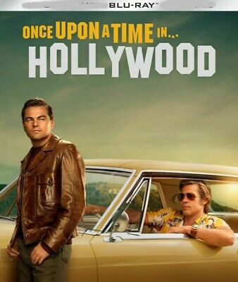 Once Upon A Time in Hollywood blu ray Only, NO CASE/DVD/DIGITAL⬇️Read⬇️PREORDER