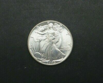 1945-P Walking Liberty Half Dollar 90% Silver Us Coin M1835