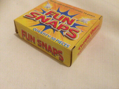 Two Packs of Fun Snaps Bangers. Great For Goody Bags Pinatas. Cheapest on Ebay.