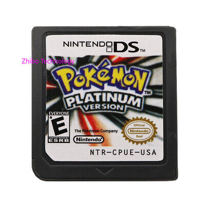 Pokemon Platinum Version Cartridge Only For Nintendo DS, 2/3DS XL Christmas Gift