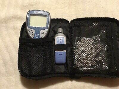 bayer contour blood glucose Monitor and Case