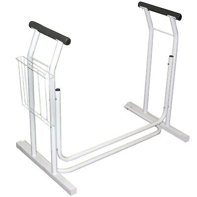 Toilet Safety Frame Rails and Support