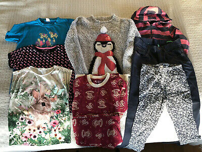 Girls clothes age 11-12 bundle With Christmas Jumper Dress