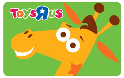 Toys R Us Gift Cards - Mail Delivery