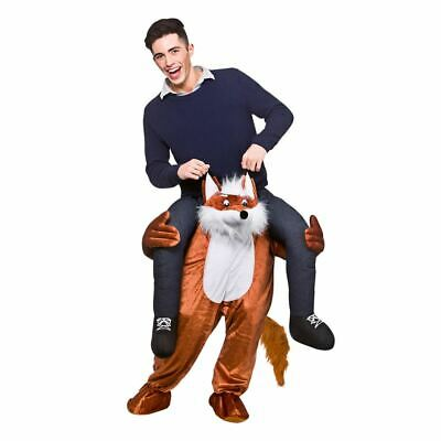 Carry Me Fantastic Fox Funny Adults Mascot Fancy Dress Up Party Charity Costume