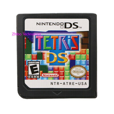 Tetris DS (Nintendo DS, 2006) Game Cartridges for DS/2DS/3DS XL Christmas Gift