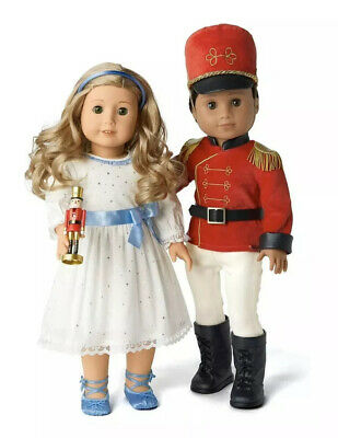 American Girl Nutcracker Prince And Clara Outfit Set Limited Edition NEW IN BOX