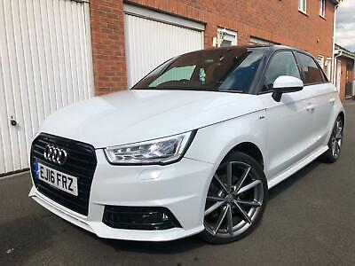 2016 16 Audi A1 Black Edition Dsg S Tronic 1.4 TFSI CAT S Repaired 5dr 40k nt s1