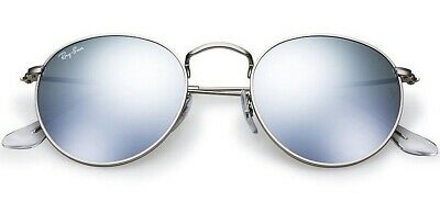 Sunglasses Ray Ban Round Metal RB3447 019/30 Silvw Frame SIlver Mirr Lens 50 mm