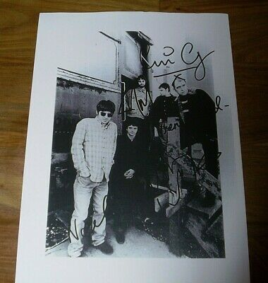 FREE DELIVERY LIAM GALLAGHER #1 Signed Photo Print A5 Mounted Photo Print