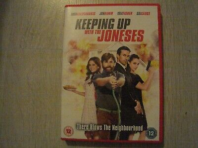 ( Keeping Up With The Joneses ) - 2017 Comedy Dvd