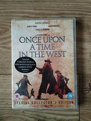 Once Upon A Time In The West [DVD] 2 Disc Special Collector's Edition Region 2
