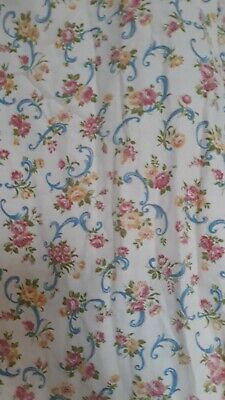 1930s Vintage Printed Fabric New York Red F6-30s PO-9