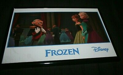 Walt Disney Frozen Framed Childrens Wall Decoration
