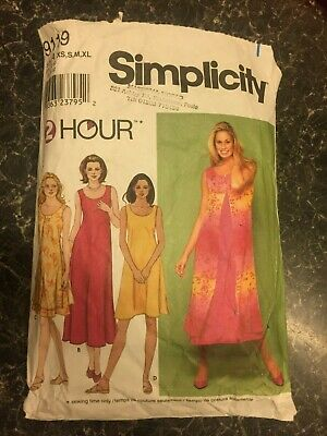 Simplicity 9119  2 Hour Sewing Pattern Sz S-Xl