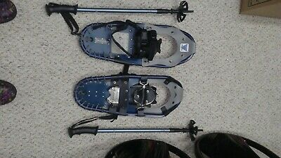 Grizzly Outriggers Snowshoes with Walking Poles and Bag - Adult
