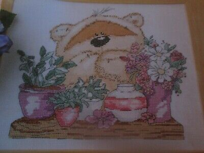 'Over The Moon' Fizzy Moon Cross Stitch Chart Only