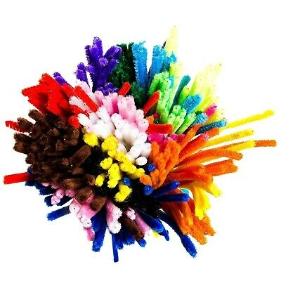 Pipe Cleaner 150 Pieces Pipe Cleaners 6 Mm X 30 Cm Bending Plush For Children