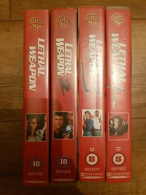 Lethal Weapon - The Complete Action Set VHS