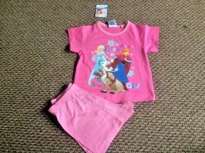 Girls Disney Frozen Pyjamas Pj's Size 18 - 24 months - New with Tags!!!