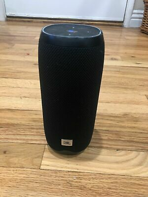 JBL Link 20 Bluetooth Voice Activated Portable Speaker - Black - Wireless L20x