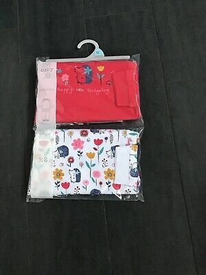 Pack Of 2 Baby Girls Pyjamas Size 6/9mths