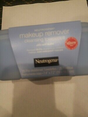 Neutrogena MakeUp Remover Wipes 25 ct HARD CASE