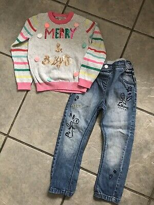 Girls Next Xmas Outfit - Age 3-4