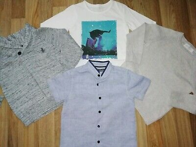 **Boys Small Bundle Of Jumpers/Shirts Aged 1-2 Years Next H&M**