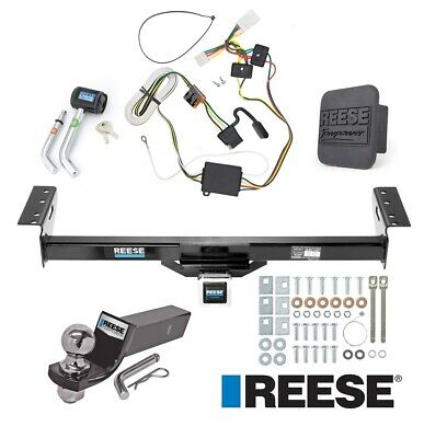 "Reese Trailer Tow Hitch For 97-01 Jeep Cherokee Deluxe Wiring 2"" Ball and Lock"