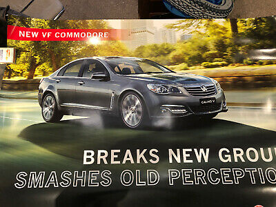 Holden New VF Commodore Original Showroom Poster