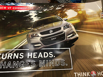 Holden The New VF Commodore SSV Original Showroom Poster