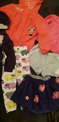 Girls Clothes Bundle Next Nutmeg Disney Age 2-3 Years Minnie Mouse Osh Kosh