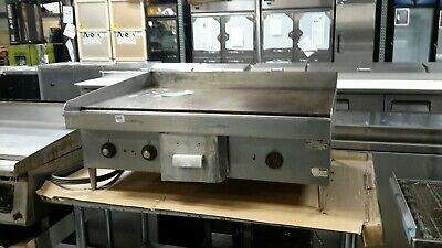 "Used Hobart CG58 36"" Electric 208/240V Countertop Griddle"
