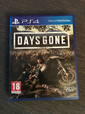 DAYS GONE PS4 - Playstation 4 -  Mint Condition