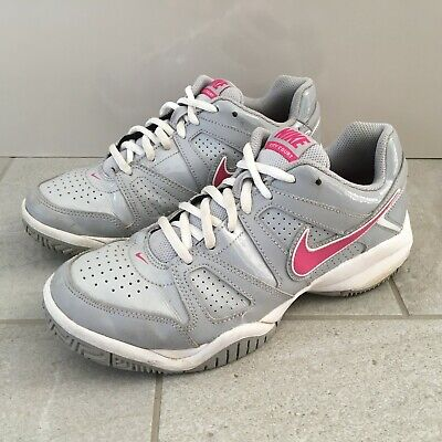 NIKE City Court Trainers Womens Size UK 5.5 | EUR 38.5 Grey Lace Up Tennis Sport
