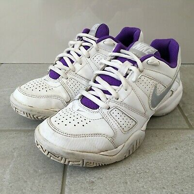 NIKE City Court Tennis Trainers Women's Size UK 3 | EUR 35.5 White Lace Up
