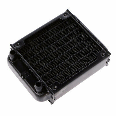 80mm Computer Radiator CPU Cooling Aluminum Water Cooler Accessory-Exchanger