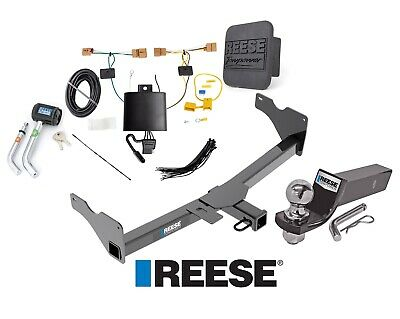 "Reese Trailer Tow Hitch For 18-19 Volkswagen Tiguan Deluxe Wiring 2"" Ball & Lock"