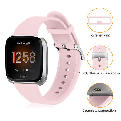 For Fitbit Versa 2 Replacement Soft Silicone Wrist Band Sport Strap Bracelet