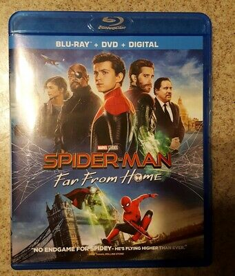 Spider-man: Far From Home (Blu-ray & Digital, No DVD)