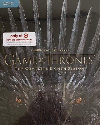 GAME OF THRONES ~ THE COMPLETE EIGHTH SEASON~ Blu-Ray + Digital <SPECIAL EDIT.>•