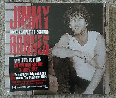 Jimmy Barnes - For The Working Class Man - CD+DVD ALBUM [NEW & SEALED]