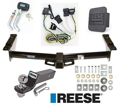 "Reese Trailer Tow Hitch For 18-19 Volkswagen Tiguan Deluxe Wiring 2"" Ball &Lock"