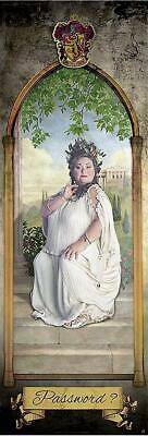 Harry Potter The Fat Lady Door Poster