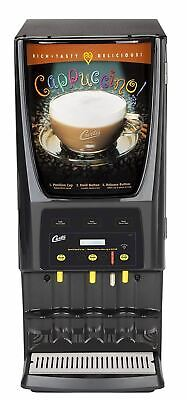 Wilbur Curtis G3 System 3 Station Cappuccino (One 5 Lb And Two 10 Lb Hopper) Wit