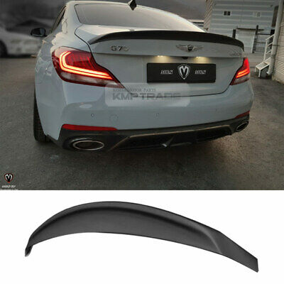 Painted PVO Type Rear Trunk Lip Spoiler Wing For 2008-11 HYUNDAI Genesis Sedan ✪