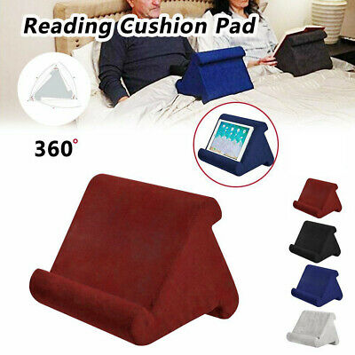 Pillow Stands For Tablet /iPad/Book Reader Holder Rest Laps Reading Cushion BO