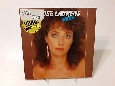 Rose Laurens - Vivre (LP, Album) 1983 Synth-pop